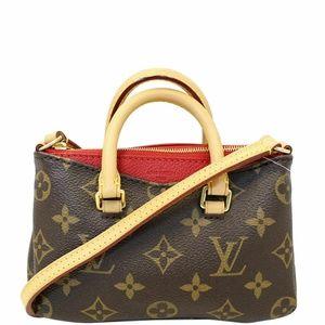 LOUIS VUITTON Nano Pallas  Shoulder Bag